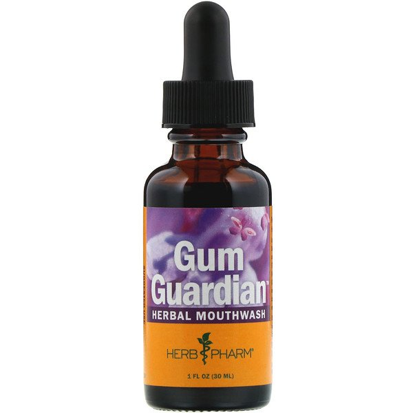 Herb Pharm, Gum Guardian, Herbal Mouthwash, 1 fl oz (30 ml)