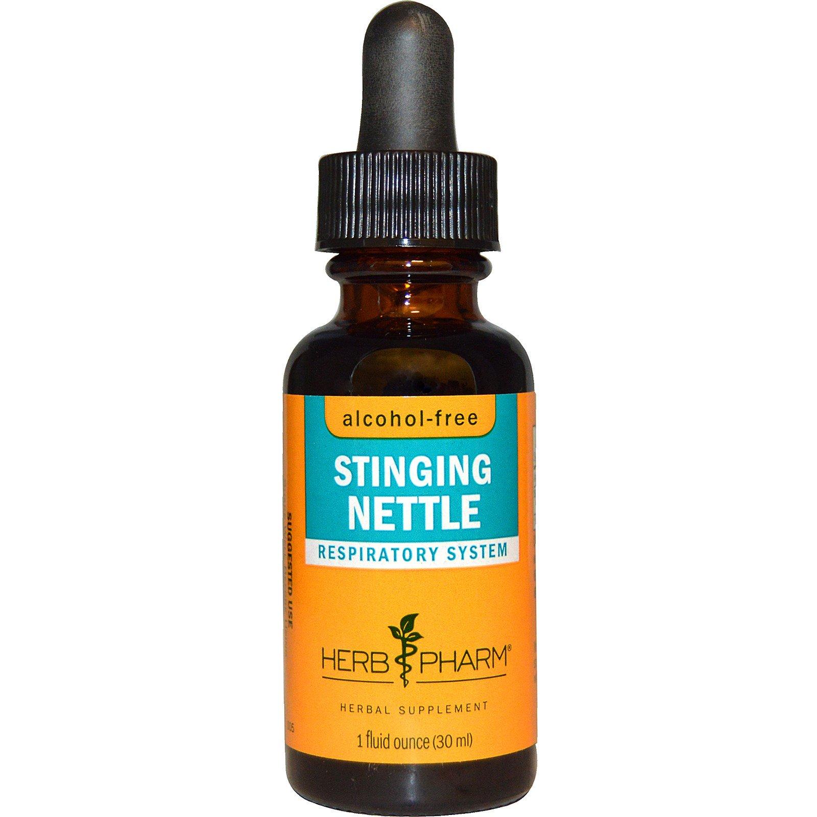 Herb Pharm, Крапива жгучая, без спирта, 1 жидкая унция (30 мл)