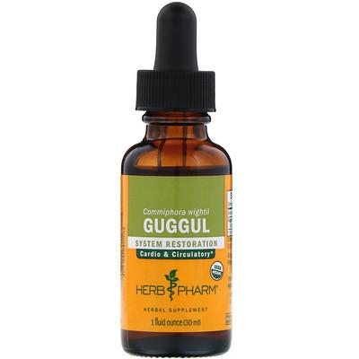 Herb Pharm Guggul, 1 жидкая унция (30 мл)