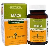 Мака, 500 мг, 60 вегетарианских капсул - фото