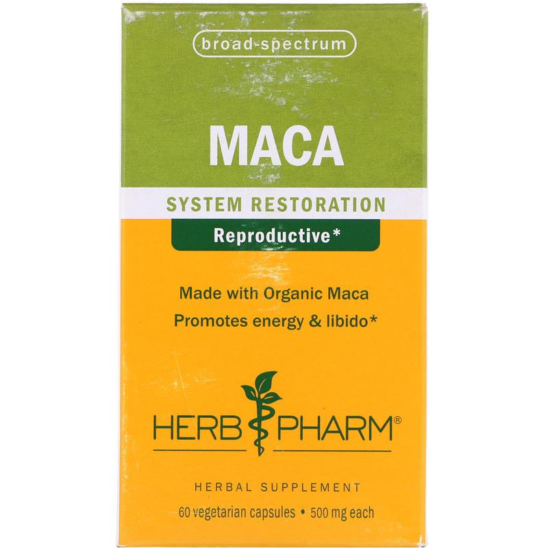 Maca, 500 mg, 60 Vegetarian Capsules