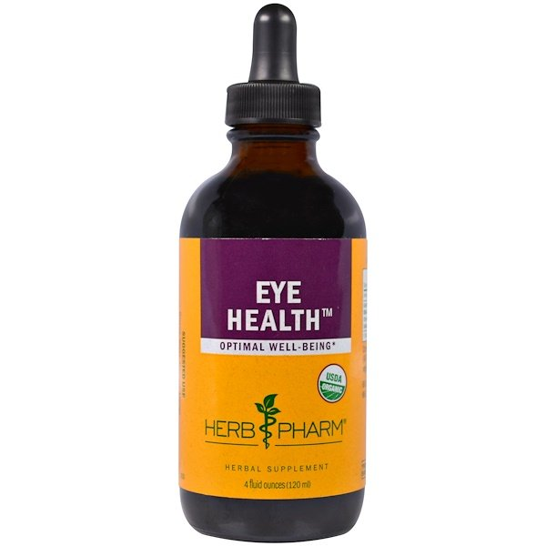 Herb Pharm, Organic Eye Health, 4 fl oz (120 ml) (Discontinued Item)