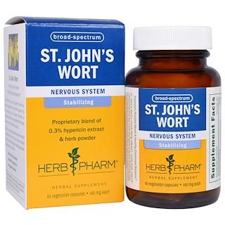 Herb Pharm, St. John's Wort, 460 mg, 60 Veggie Caps