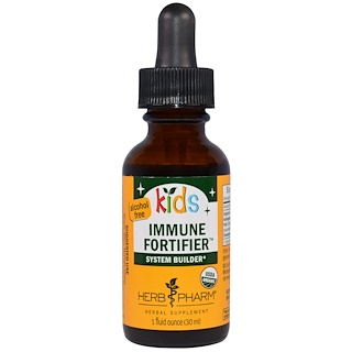 Herb Pharm, Immune Fortifier System Builder pour enfant, sans alcool, 30 ml (1 fl oz)