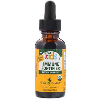 Herb Pharm, Kid's Immune Fortifier, System Builder, Alcohol Free, 1 fl oz (30 ml)