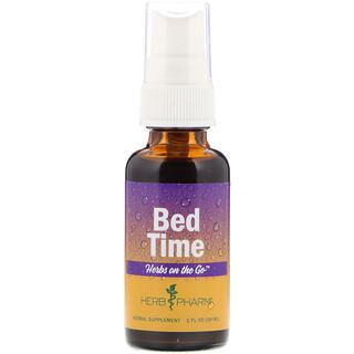 Herb Pharm, Herbes sur le pouce, à prendre avant de se coucher, 1 oz fl (30 ml)