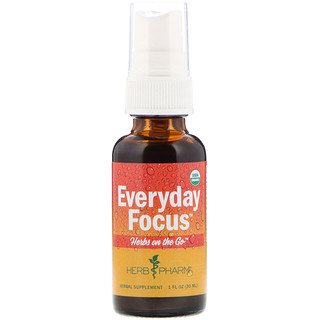 Herb Pharm, Herbes sur le pouce, dose quotidienne, 1 oz (30 ml)