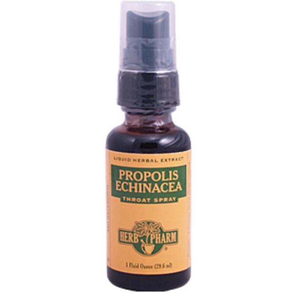 Herb Pharm, Propolis Echinacea Throat Spray, 1 fl oz (29.6 ml) (Discontinued Item)