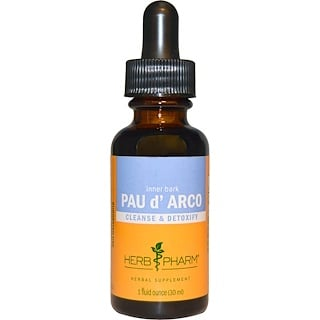 Herb Pharm, Pau d'Arco, Inner Bark, 1 fl oz (30 ml)