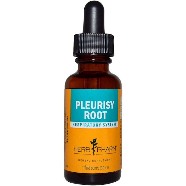 Herb Pharm, Pleurisy Root, 1 fl oz (30 ml) (Discontinued Item)