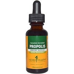 Herb Pharm, 프로폴리스, 꿀벌이 수확한, 1 액량 온스 (30 ml)