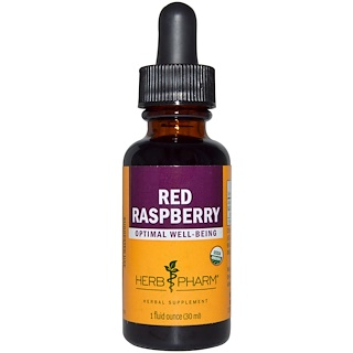 Herb Pharm, Frambuesa roja, 1 fl oz (29.6 ml)