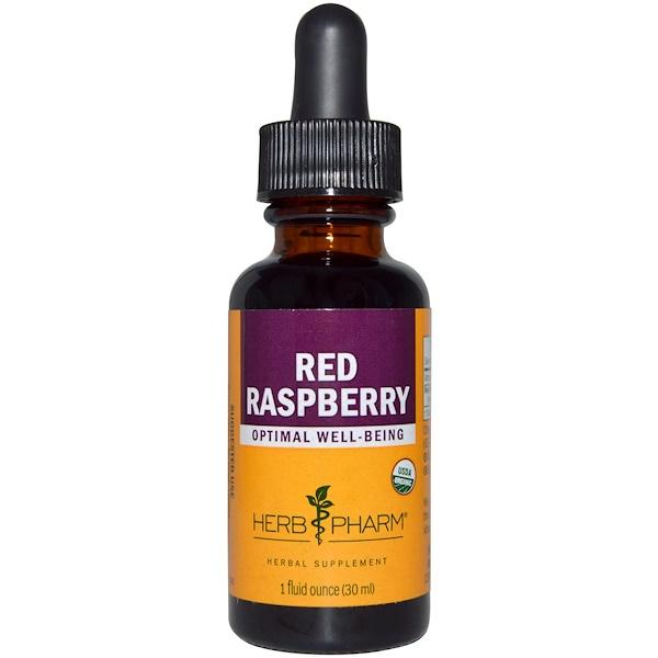 Herb Pharm, Red Raspberry, 1 fl oz (29.6 ml)