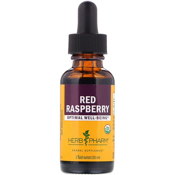 Herb Pharm, Red Raspberry, 1 fl oz (30 ml)