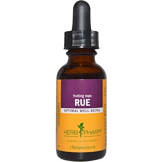 Herb Pharm, Rue, Fruiting Tops, 1 fl oz (29.6 ml)
