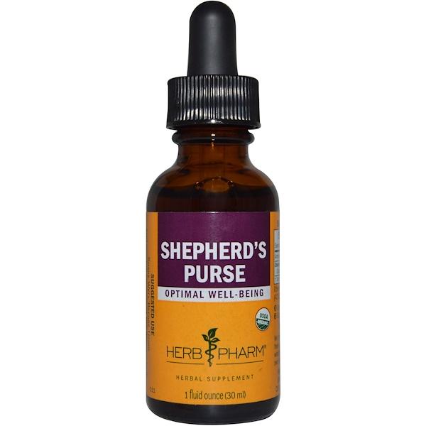 Herb Pharm, Shepherd's Purse, 1 fl oz (30 ml) (Discontinued Item)