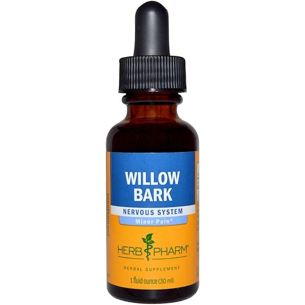 Herb Pharm, Willow Bark, 1 fl oz (30 ml)