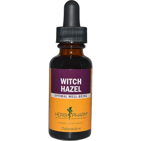 Herb Pharm, Witch Hazel, 1 fl oz (30 ml)