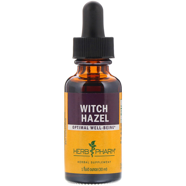 Herb Pharm, Witch Hazel, 1 fl oz (30 ml) (Discontinued Item)