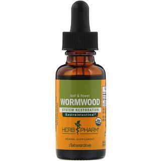 Herb Pharm, Wormwood, Leaf & Flower, 1 fl oz (30 ml)