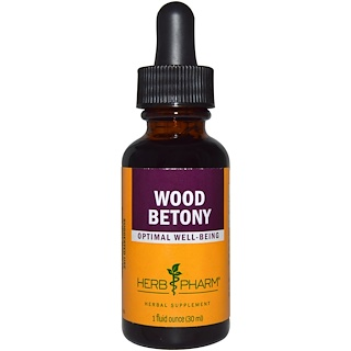 Herb Pharm, Wood Betony, 1 fl oz (30 ml)