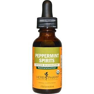 Herb Pharm, Настойка перечной мяты, 1 жидкая унция (29,6 мл)