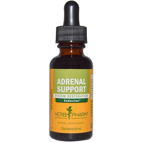 Herb Pharm, Adrenal Support, 1 fl oz (30 ml)