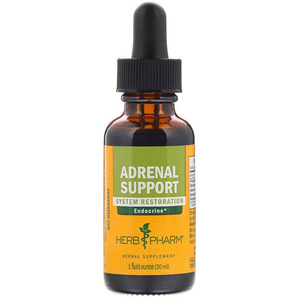 Herb Pharm, Support surrénal, 1 fl oz (30 ml)