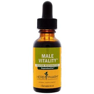 Herb Pharm, Мужская жизненная сила, 1 жидкая ункция (30 мл)