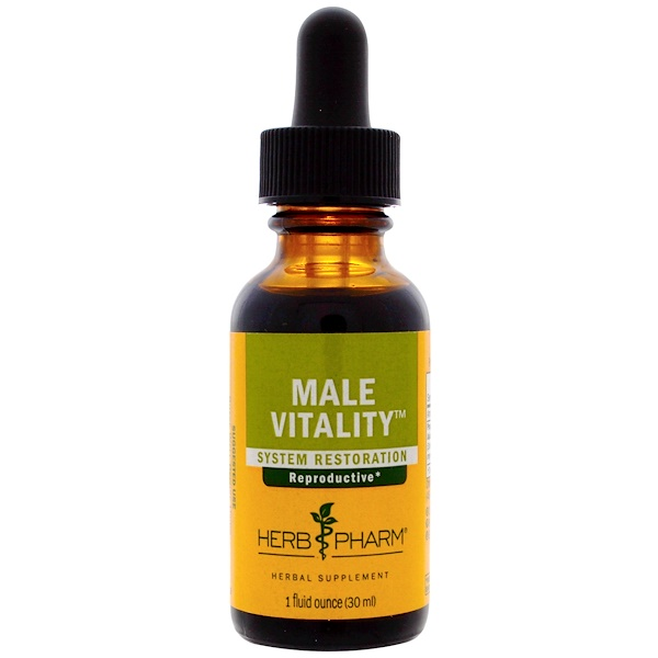 Herb Pharm, Male Vitality, 1 fl oz (30 ml)