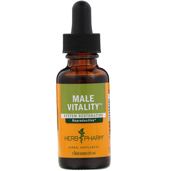 Male Vitality, System Restoration, 1 fl oz (30 ml)