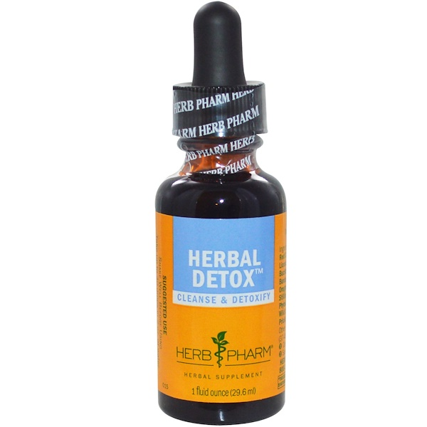 Herb Pharm, Herbal Detox, 1 fl oz (29.6 ml) (Discontinued Item)