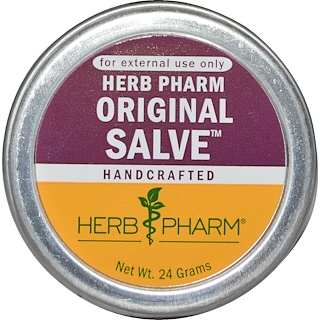 Herb Pharm, Baume original, 24 g