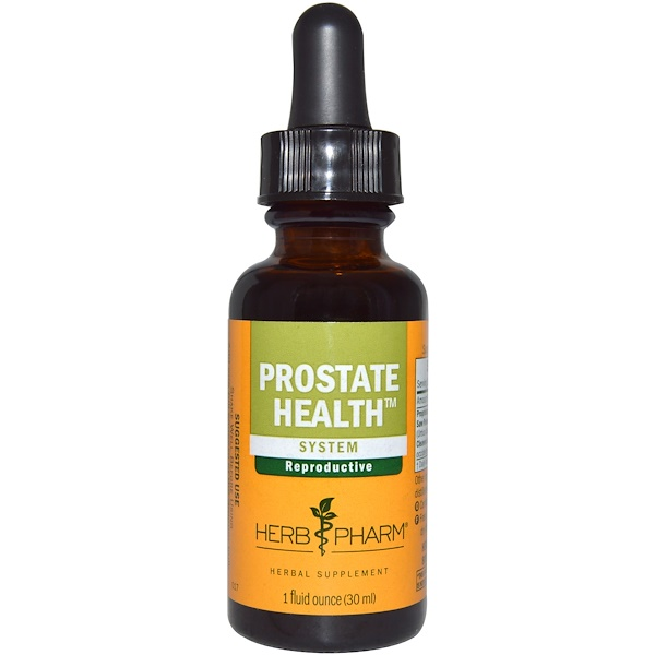 Herb Pharm, Prostate Health, System, 1 fl oz (30 ml)