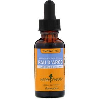 Herb Pharm, Pau D'Arco, Alcohol-Free, 1 fl oz (30 ml)
