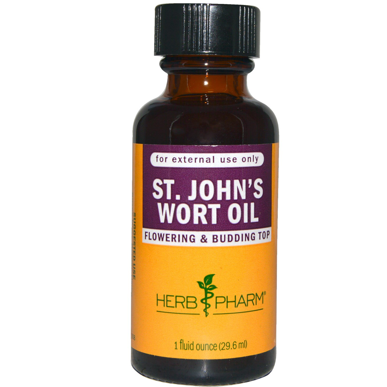 Herb Pharm, Масло зверобоя, 1 жидкая унция (29,6 мл)