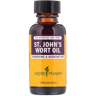 Herb Pharm, St. John's Wort Oil, 1 fl oz (30 ml)
