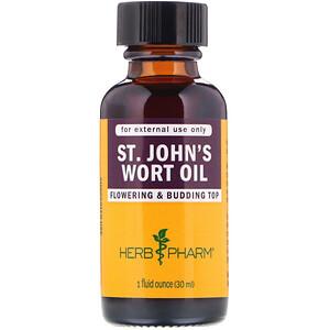 Херб Фарм, St. John's Wort Oil, 1 fl oz (30 ml) отзывы