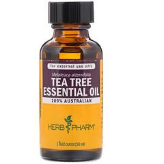 Herb Pharm, 茶樹精油,1 液量盎司(30 毫升)