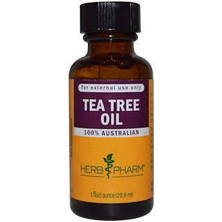 Herb Pharm, Huile de Tea Tree, 29.6 ml (1 fl oz)