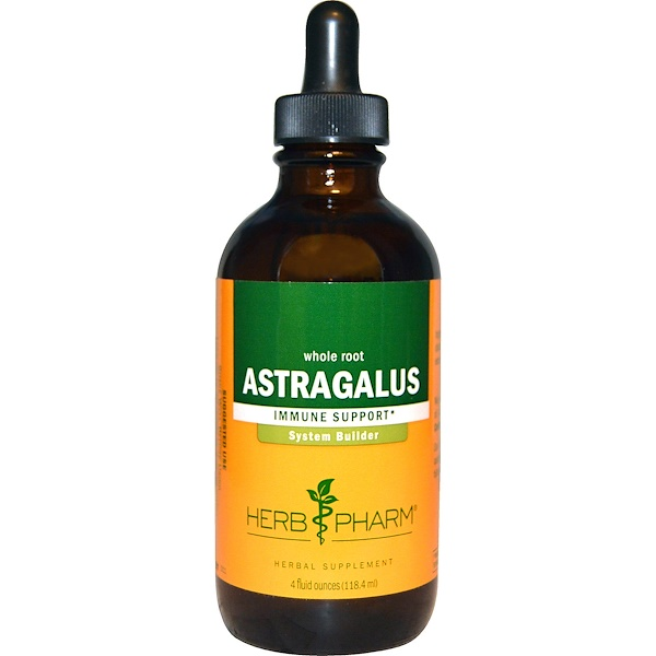 Herb Pharm, Astragalus, Whole Root, 4 fl oz (118.4 ml) (Discontinued Item)