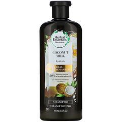 Herbal Essences, 保濕洗髮水,椰奶,13.5 液量盎司(400 毫升)
