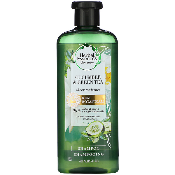 Sheer Moisture Shampoo, Cucumber & Green Tea, 13.5 fl oz (400 ml)