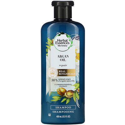Купить Herbal Essences Argan Oil Repair Shampoo, 13.5 fl oz (400 ml)