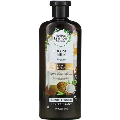 Купить Herbal Essences Hydrate Conditioner, Coconut Milk, 13.5 fl oz (400 ml)