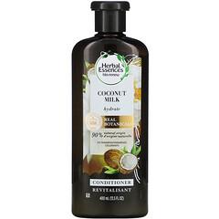 Herbal Essences, 保濕護髮素,椰奶,13.5 液量盎司(400 毫升)