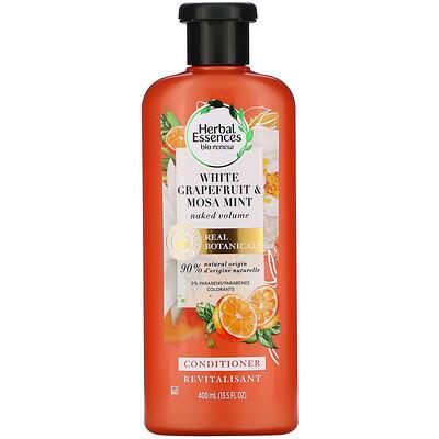 Купить Herbal Essences Naked Volume Conditioner, White Grapefruit & Mosa Mint, 13.5 fl oz (400 ml)