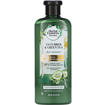Herbal Essences Sheer Moisture Conditioner, Cucumber & Green Tea, 13.5 fl oz (400 ml)