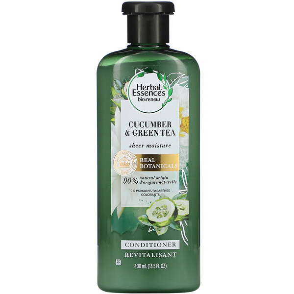 Sheer Moisture Conditioner, Cucumber & Green Tea, 13.5 fl oz (400 ml)