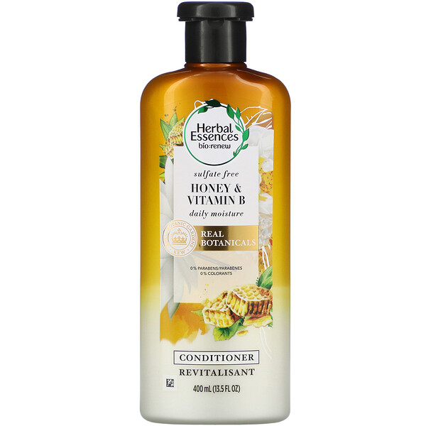 Daily Moisture Conditioner, Honey & Vitamin B, 13.5 fl oz (400 ml)